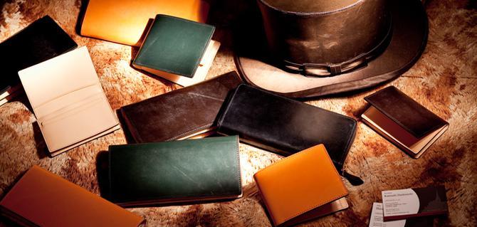 かぶせ蓋の長財布