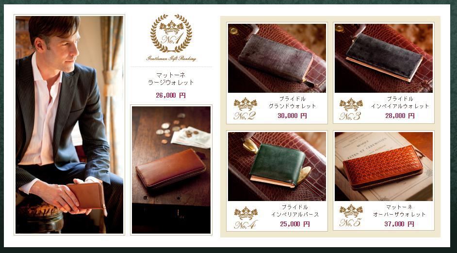 イチオシ20代ココマイスター革財布