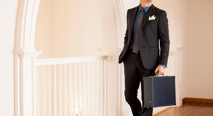 クリスペルカーフオルデンブルクの大人の出来る男のビジネスバッグ