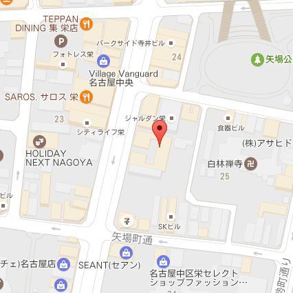 ココマイスター名古屋店グーグルマップ