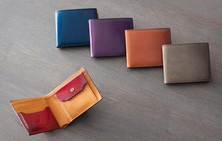 yuhakuフォスキーアシリーズ二つ折り財布